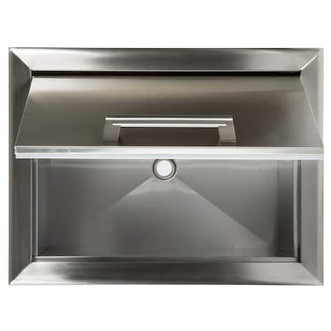 Drop in cooler stainless