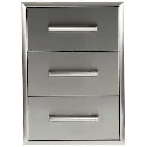 3 Drawer Cabinet SS