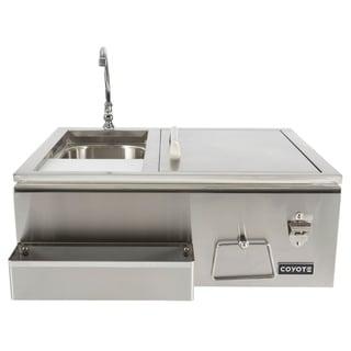 Refreshment Center-Sink, Faucet, Drop in Cooler