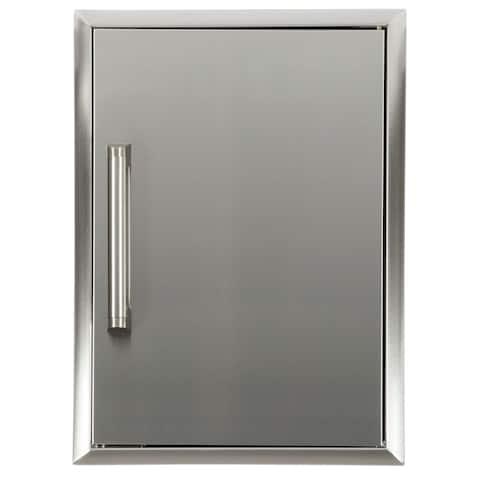 "Single Access Door 20"" X 14"" Stainless"