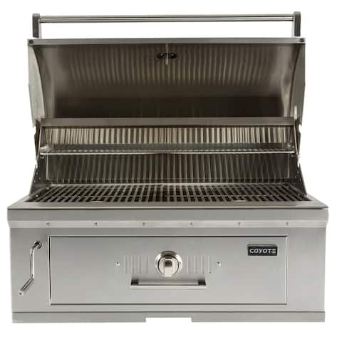 """36"""" Charcoal Grill Built-in"""