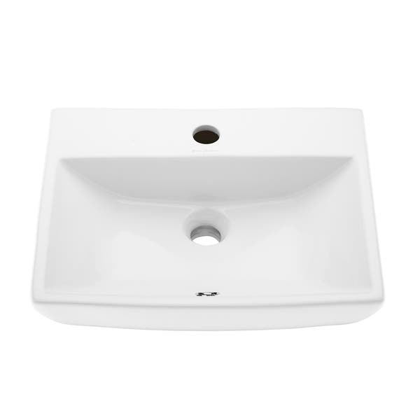 Peachy Shop Voltaire Compact Ceramic Wall Hung Sink Free Shipping Home Interior And Landscaping Sapresignezvosmurscom