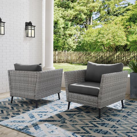 Clover Pass Arm Chairs (Set of 2) by Havenside Home