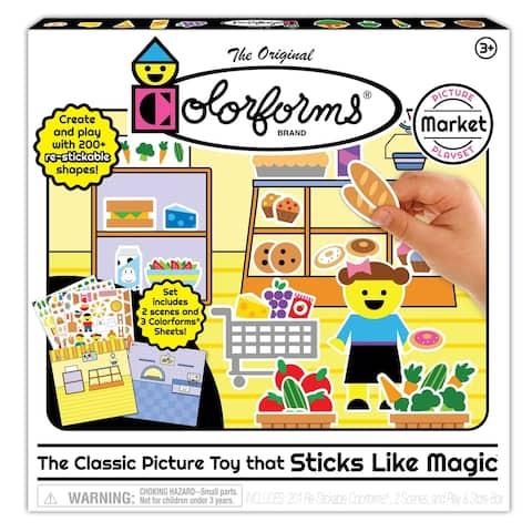 Colorforms Picture Play Set - MARKET