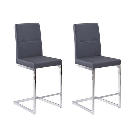Best Quality Furniture Counter Height Dining Chairs (Set of 2) Only