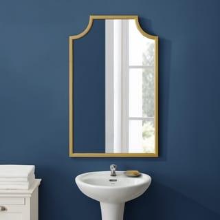 Copper Grove Vertou Goldtone Wall Mirror