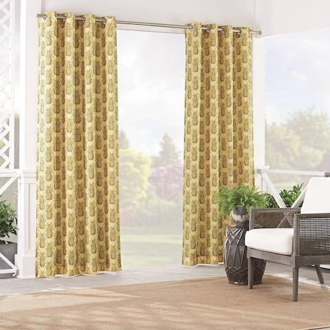 Waverly Sun n Shade Pineapple Grove Curtain Panel