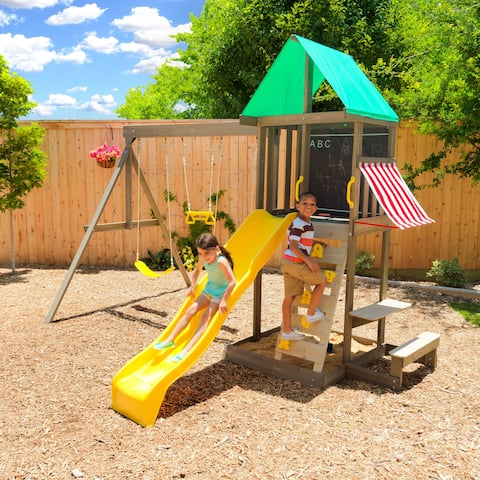 KidKraft Newport Wooden Swing Set / Playset