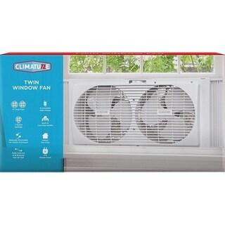 Climature Twin Window Fan