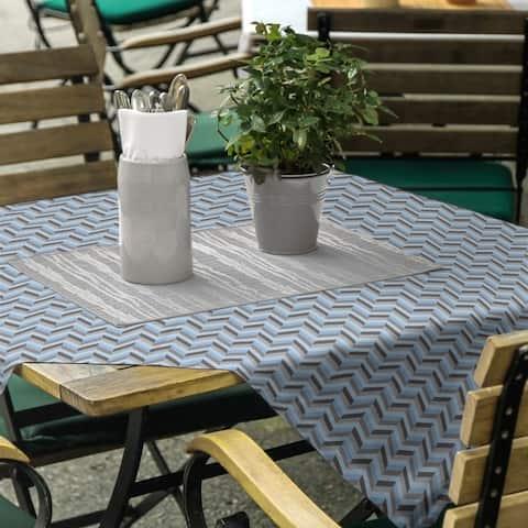 Chevrons Square Tablecloth