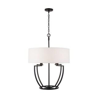Link to Palmer 4-light Matte Black Pendant Similar Items in Pendant Lights