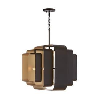 Link to 4-light Bronze/Gold Pendant Similar Items in Pendant Lights