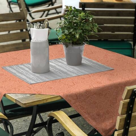 Full Color RPG Pattern Square Tablecloth