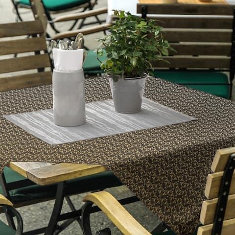 Classic Art Deco Square Tablecloth