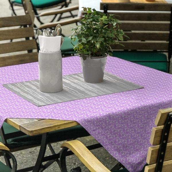 Alternate Art Deco Square Tablecloth - 58 x 58