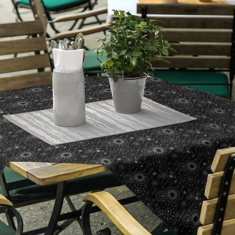 Astrology Pattern Square Tablecloth