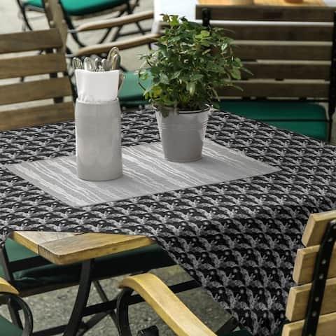 Floral Bats Square Tablecloth