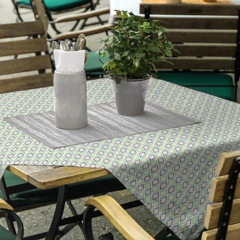 Full Color Arrow Diamonds Square Tablecloth