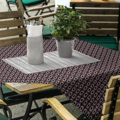 Classic Arrow Diamonds Square Tablecloth