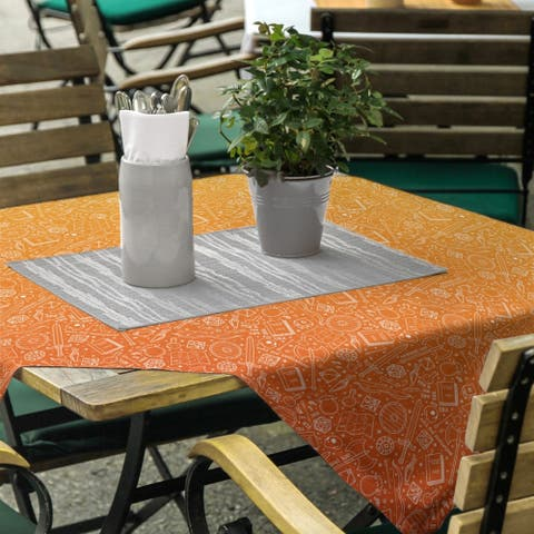 Ombre RPG Pattern Square Tablecloth