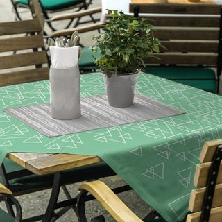 Scattered Triangles Square Tablecloth - 58 x 58