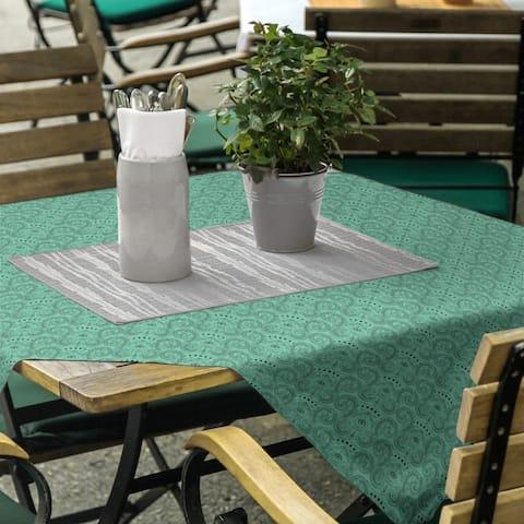 Third Eye Pattern Square Tablecloth