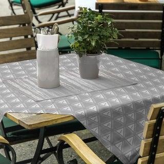 Classic Minimalist Tree Pattern Square Tablecloth - 58 x 58