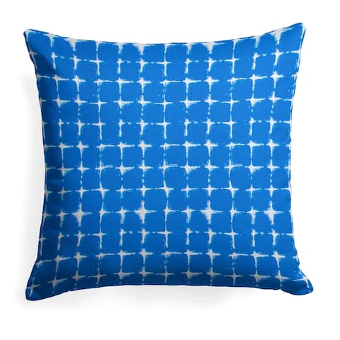 Glasgow Geometric Print 25-inch Reversible Square Pillow by Havenside Home
