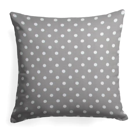 Glasgow Dab Grey 25-inch Reversible Square Pillow by Havenside Home