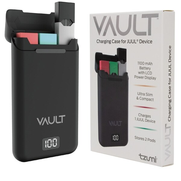 Shop Tzumi Vault Portable Charging Case for JUUL Holds 3