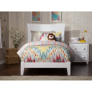 Metro Twin Traditional Bed in White