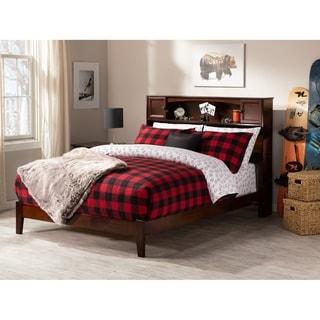 Newport Full Traditional Bed in Walnut