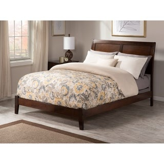 Portland King Traditional Bed in Walnut