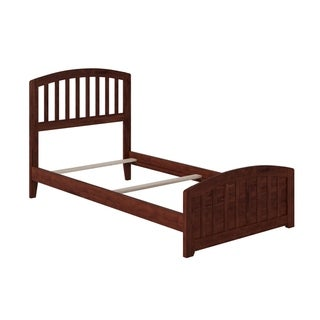 Richmond Twin XL Traditional Bed with Matching Foot Board in Walnut