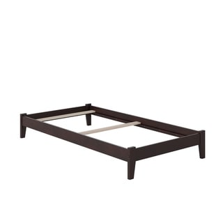 Concord Twin XL Traditional Bed in Espresso