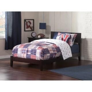 Copper Grove Bibra Twin XL Espresso Bed