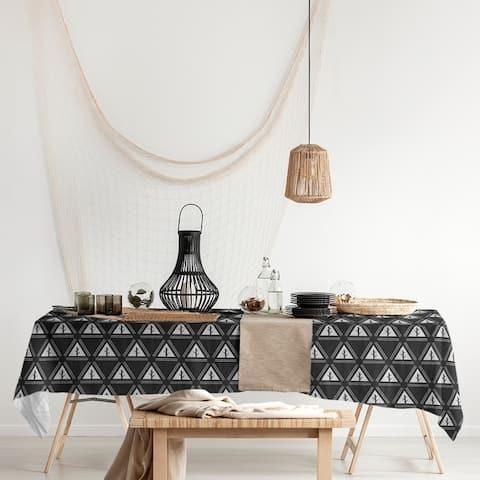 Classic Minimalist Tree Pattern Rectangle Tablecloth - 58 x 102