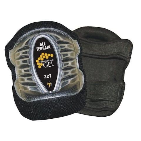 Tommyco GELite 6 in. L x 4.5 in. W Gel Knee Pads Black Breathable