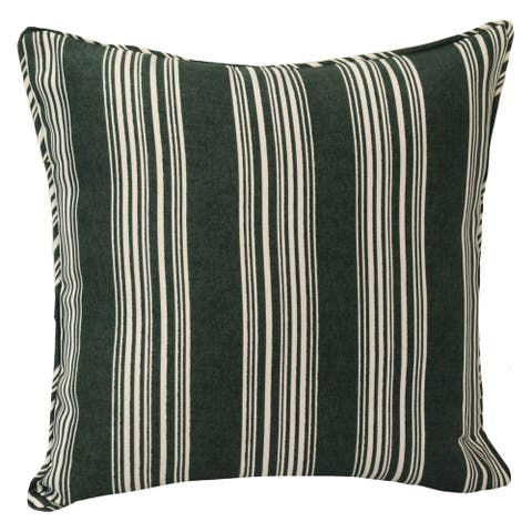Home Fashions International Black and White Indoor/ Outdoor Pillows