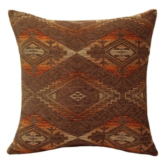 Home Fashions International Brown Kilim Accent Pillows (Set of 2)