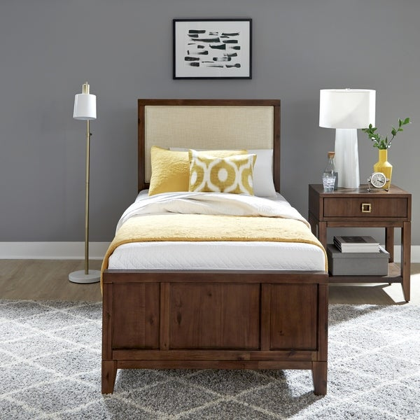 Bungalow Twin Bed & Night Stand