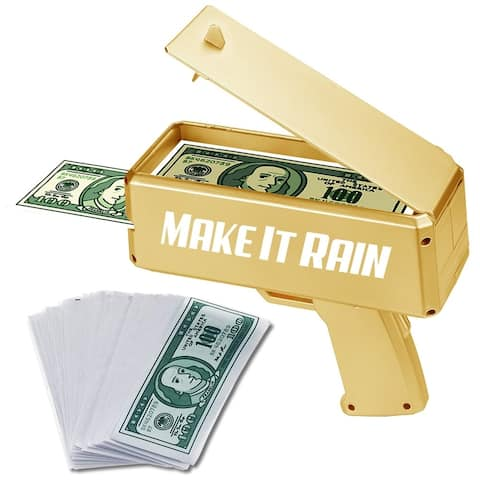 Modern Home Make It Rain Money Spraying Gun - Gold