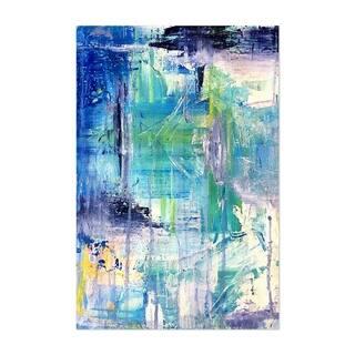 Noir Gallery Abstract Pastel Modern Painting Unframed Art Print/Poster