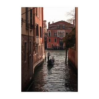 Noir Gallery Canals Venice Italy Photography Unframed Art Print/Poster