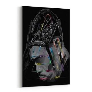 Noir Gallery Chris Brown Music Pop Culture Canvas Wall Art Print