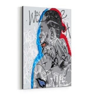 Noir Gallery Kendrick Lamar Portrait Rap Music Canvas Wall Art Print