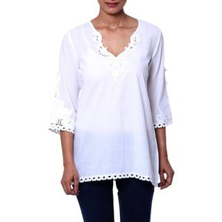 White Simplicity Cotton Tunic
