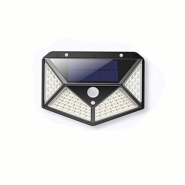 2Pack 68 LED Solar PIR Motion Sensor Light Outdoor Garden Security Flood Lamp
