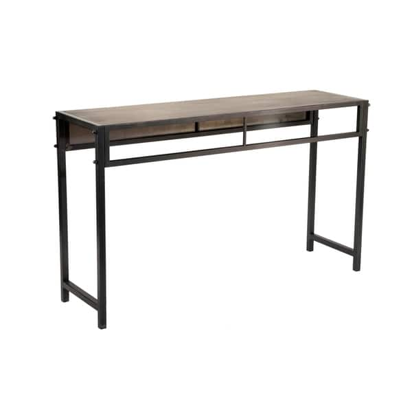 Bronze Metal Console Table Free Shipping Today