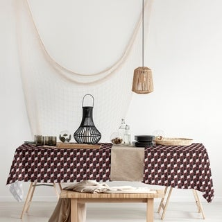 Link to Classic Geometric Stripes Rectangle Tablecloth - 58 x 102 Similar Items in Table Linens & Decor